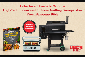 Workman Publishing – Barbecue Bible High-Tech Indoor And Outdoor Grilling – Win one (1) copy of Healthy Wood Pellet Grill & Smoker Cookbook by Nancy Loseke