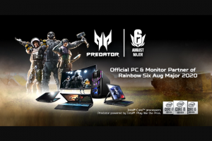 Acer – Triton 300 Gaming Laptop – Twitter – Win predator gaming game-day backpack with an approximate value of $149.95 USD Triton 300 has an approximate value of $ 1299.99 USD