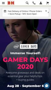 B&h – Intel Gamer Days – Win one Intel NUC Ghost Canyon i9 Kit