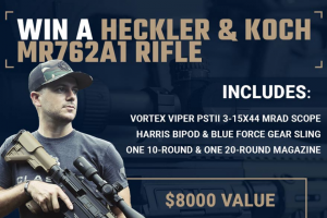 Classic Firearms – Win A Heckler & Koch Mr762a1 Rifle W/ Vortex Viper Pstii Scope – Win a Heckler & Koch MR762A1 Rifle w/ Vortex Viper PSTII Scope approximate retail value $8000.00.