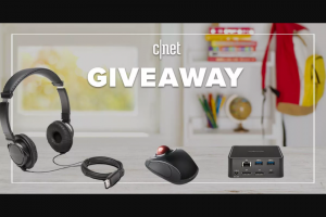 CNET – Virtual School Grand Giveaway Sweepstakes