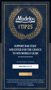 Crown Imports – Modelo #tip25 Sweepstakes