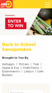 C-Town/aim Supermarkets – Back To School Sweepstakes