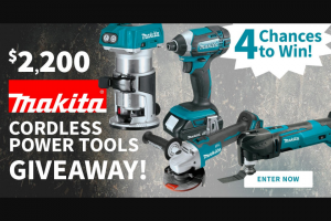 Do It Best – Makita Cordless Power Tools Giveaway – Win for any reason or c) has violated therulesof the giveaway