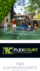 Flexcourt – Outdoor Court Giveaway Sweepstakes