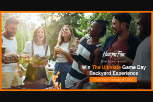 Fresher Products – Ultimate Game Day Backyard Experience – Win a The Ultimate Game day Backyard Experience