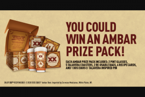 Heineken Dos Equis – Eat With Ambar Sweepstakes