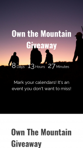 Kimber – Own The Mountain Giveaway – Win of (1) Kimber Camp Guard 10 pistol 500 rounds of Nosler Match Grade 10mm pistol ammunition and Badlands Resist Jacket Resist Pants Algus Beanie Master Gaiters Vario 65 Pack and Frame