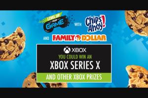 Mondelez Global – Family Dollar Chips Ahoy Xbox  Sweepstakes