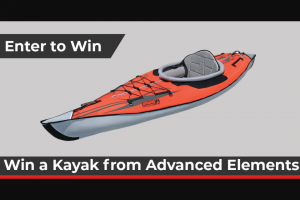 Paddlingcom – Advanced Elements – Win the AdvancedFrame Inflatable Kayak AE1012-R