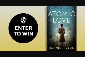 Penguin Random House – Atomic Love – Win a copy of Atomic Love by Jennie Fields
