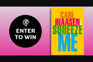 Penguin Random House – Squeeze Me – Win a finished copy of Squeeze Me by Carl Hiaasen