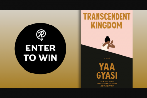 Penguin Random House – Transcendent Kingdom – Win a copy of Transcendent Kingdom by Yaa Gyasi