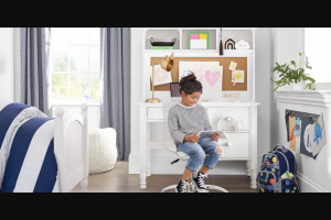 Pottery Barn Kids X Motherly – Shop Giveaway – Win the following items (approximate retail value of $1000) (1) $500 Pottery Barn Kids gift card (retail value $500 USD).