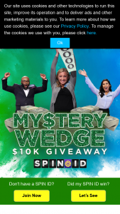 Quadra Productions Wheel Of Fortune – My$tery Wedge $10k Giveaway Viii – Win to receiving the prize as described in this section