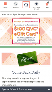 QVC – Your Inspo Spot Sweepstakes