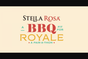 Riboli Family Wine Estates – Stella Rosa Royale Pair-A-Thon Contest Sweepstakes