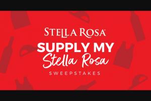 Riboli Family Wine Estates – Supply My Stella Rosa Sweepstakes
