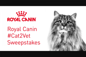Royal Canin – #cat2vet Fast Giveaway – Win a one Royal Canin Hematuria Detection technology by Blucare