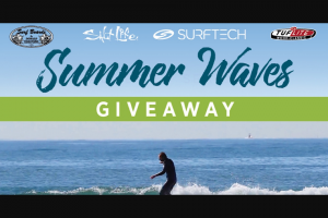 Salt Life & Surftech – Summer Waves – Win of a SurfTech Takayama – Model T Surfboard along with a Pair of Salt Life Optics Sunglasses and a $250.00 Gift Code to SaltLifecom