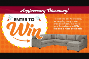 Slumberland Furniture – Design Your Way Giveaway Sweepstakes