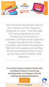 """Sunrype – Back To School 2020 – Win the following A 14"""" ChromeBook Laptop Computer 8GB Memory"""