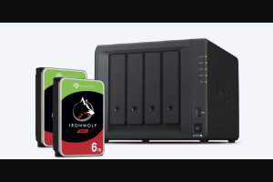 Synology And Seagate – Ironwolf Giveaway – Win One Synology DiskStation DS918 4-bay NAS enclosure (drives not included) with ARV of $549.99 and Two Seagate IronWolf 6TB NAS hard drives with ARV of $329.99 $879.98 Total