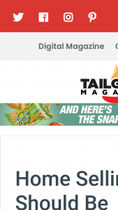 Tailgater Magazine – Monthly Giveaway Sweepstakes