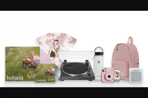 """Tunespeak – Merch Package From Kelsea Ballerini Audio-Technica Turntable Bose Speaker More – Win One Limited Edition """"the other girl"""" Tie Dye T-Shirt"""