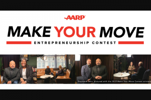 Aarp – Make Your Move Entrepreneurship Contest And Instant Win Sweepstakes