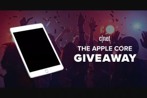 CNET – The Apple Core Giveaway – Win iPad Air 256GB  WiFi (2020) one (1) Apple Pencil and one (1) Magic Keyboard