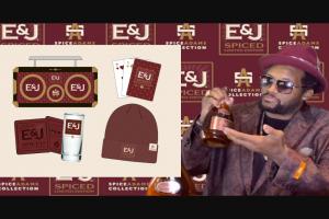 E & J Gallo Winery – E & J Brandy 2020 – Win consist of one E & J Holiday Prize Box