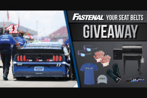 Fastenal Racing – Mcr Safety September 2020 Giveaway – Win for the total aggregate value of the prizes won