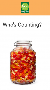 Food Network Magazine – October 2020 Who's Counting Contest – Win a $500 check (ARV $500).