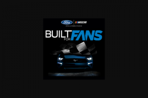 Ford – Built For Fans  – Win a one-day