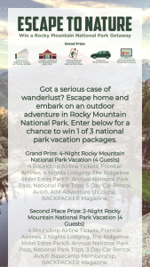 Frontier Airlines – Escape To Nature Sweepstakes