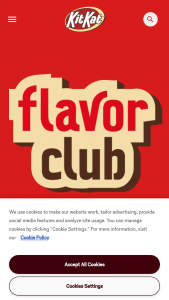 Hershey Company – Kit Kat Flavor Club Sweepstakes