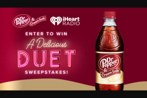"Iheartmedia – A Delicious Duet – Win in the amount of $500 Approximate Retail Value (""ARV"") $500"