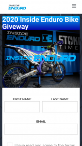 Inside Enduro – 2020 Bike Giveaway – Win a 2020 Sherco SE 300 motorcycle