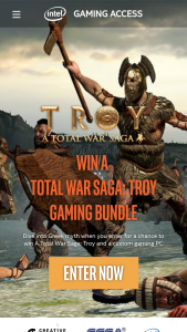 Intel – A Total War Saga Troy Sweepstakes