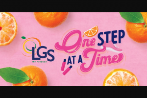 Lgs Darling Citrus – One Step At A Time Sweepstakes