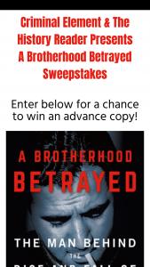 Macmillan – A Brotherhood Betrayed – Win one ARC of A BROTHERHOOD BETRAYED by Michael Cannell