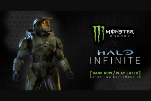 Monster Energy – X Halo Infinite – Win a seven day