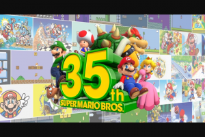 Nintendo Of America – My Nintendo Super Mario Bros – Win one Nintendo Switch Prize Pack