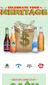 Novamex Jarritos – Ca$h In Your Pocket – Win payable by check in the name of the winner