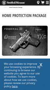 """Smith & Wesson – Gunsmarts Home Protection Package Giveaway – Win a prize that consists of one (1) Smith & Wesson® M&P9 Compact 4"""" Optics Ready Pistol ($616) or one (1) state compliant substitute M&P pistol for residents of CA"""