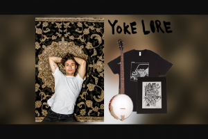 Tunespeak – Yoke Lore Custom Artwork More – Win One Goldtone CC50 banjo