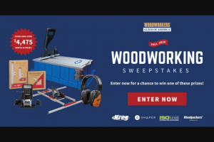 Woodworkers Guild Of America – Fall 2020 – Win Woodpeckers Stainless Steel Squares 642SS & 1282S (ARV $219.99).