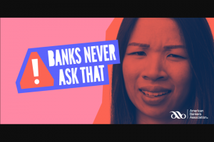 American Bankers Association – Banks Never Ask That Quiz – Win (1) $1000 prepaid card ($1000 ARV).
