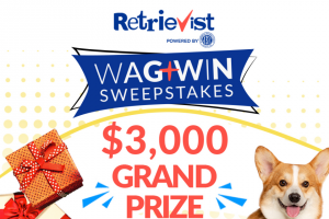 American Kennel Club – Retrievist Giveaway – Win one Amazon gift card valued at USD $50.00 and one calendar month supply of Cloud Star Wag More Bark Less
